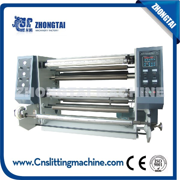 ZFQ Vertical Automatic Slitting & Rewinding Machine